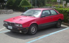 The Maserati Biturbo once shared bits...