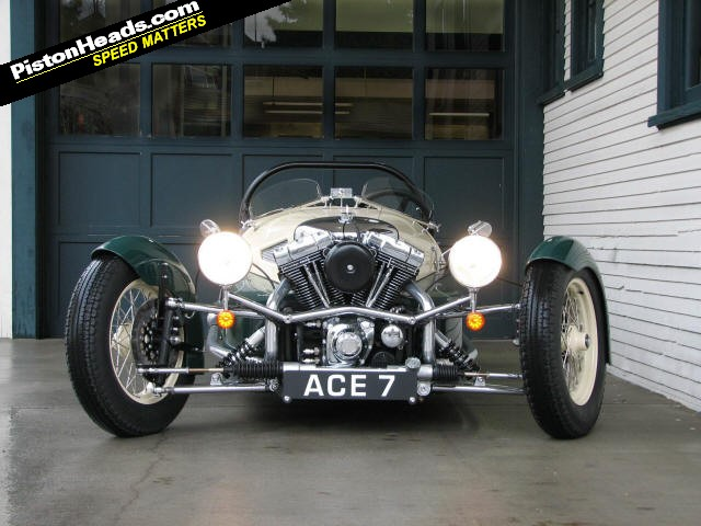 The classic Morgan three-wheeler is scheduled to return this year,