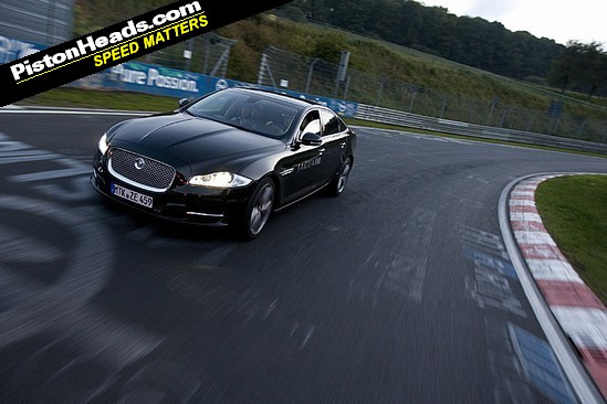 Luxury limo plus the Nurburgring - it shouldn't work, but it does