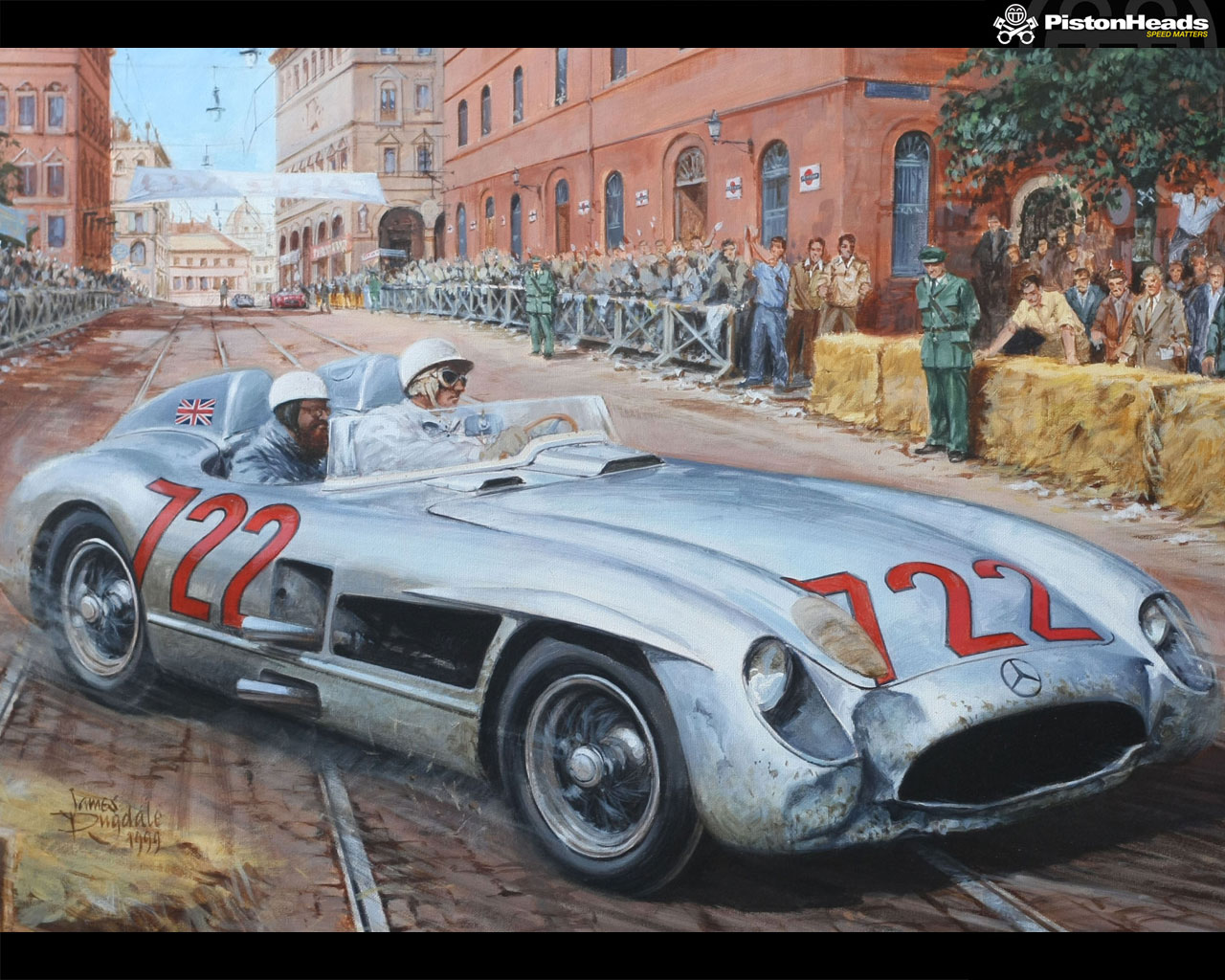 STIRLING MOSS/MILLE MIGLIA