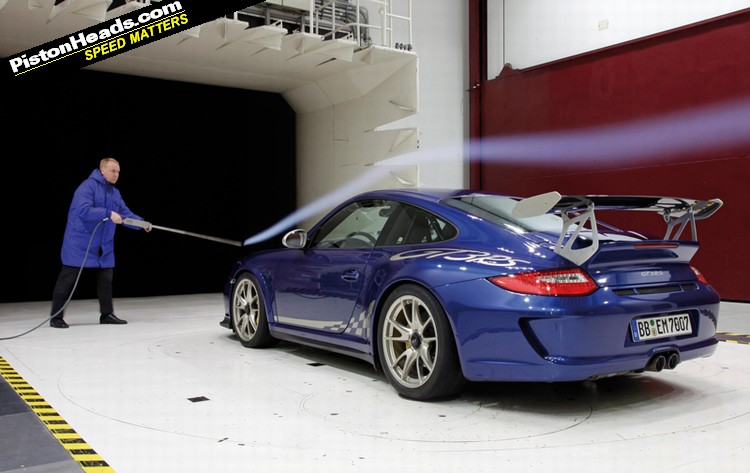 Porsche Orders A New Wind Tunnel Pistonheads