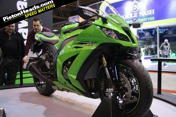 Kawasaki: ZX10-R is top of the 'must see' list