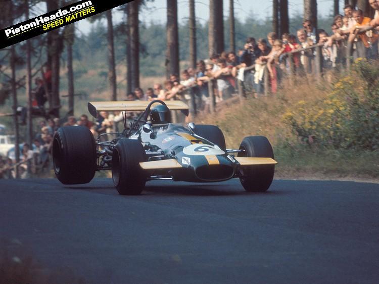 Brabham, Equipe histórica de Formula 1 de 1969 - pistonheads.com