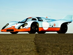 1971 Porsche 917 Chassis No.026 - 2nd, Le Mans 24 Hours, Attwood/Muller