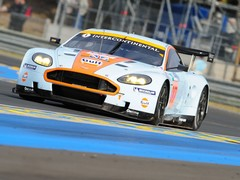 2008 Aston Martin DBR9 Chassis No.007 - 4th in GT1, Le Mans 24 Hours, Frentzen/Piccili/Wendlinger
