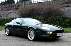 DB7 was the last six-cylinder Aston