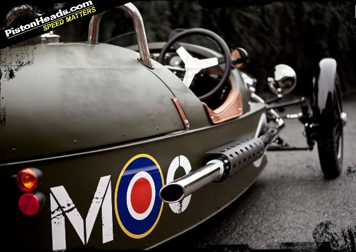2012 Morgan 3 Wheeler New. New Morgan Three-wheeler