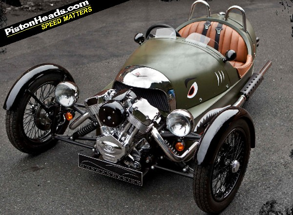Morgan Car Company. the new Morgan car/trike