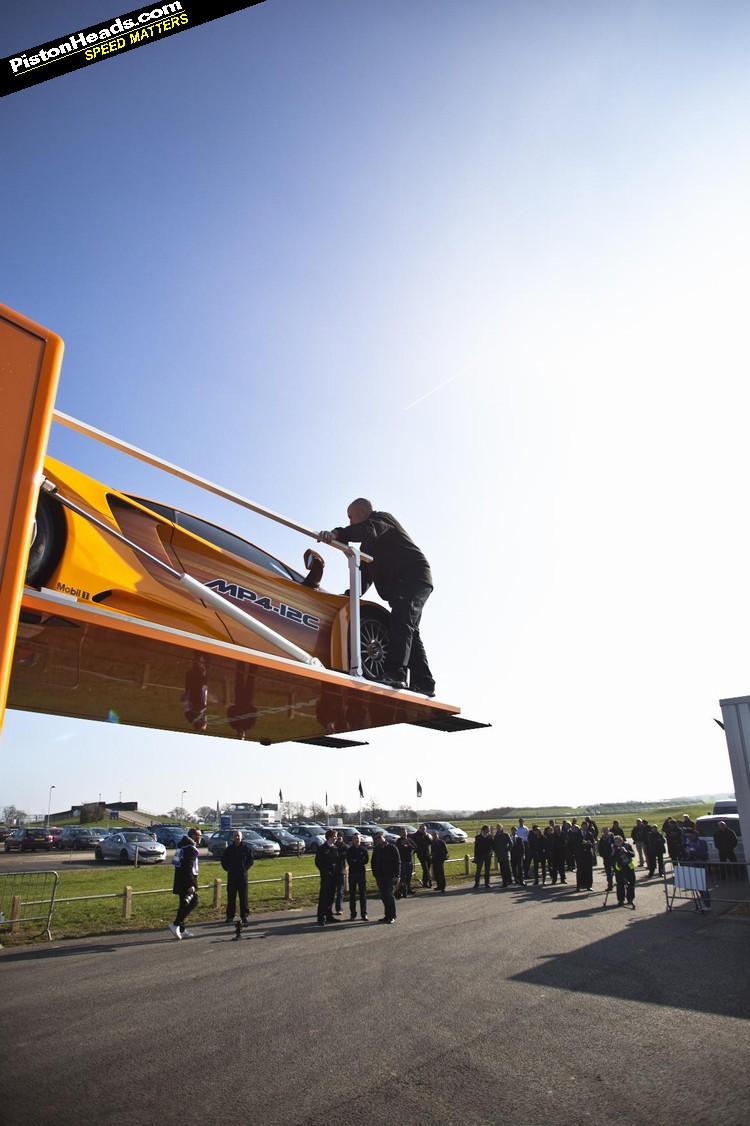 IN PICS: NEW MCLAREN RACER'S