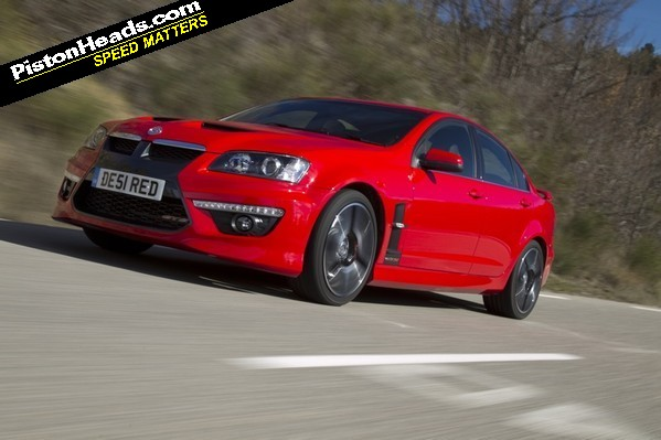 The new Vauxhall VXR8 - fresh from 'down under'...