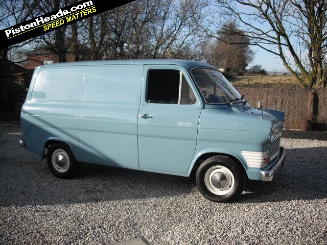 Re Spotted 1970 Mk1 Ford Transit Page 1 General