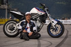 Chris Pfeiffer - four times stunt champ