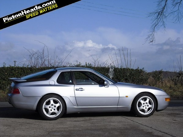 The Porsche 968 in Polar Silver, courtesy of Gmund Cars in Harrogate