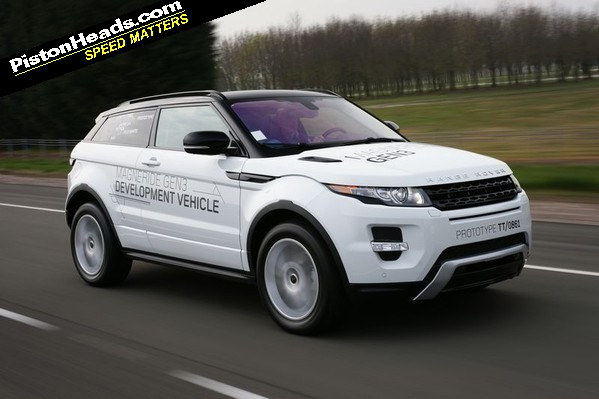 PH has driven the new Range Rover Evoque - in pre-production guise