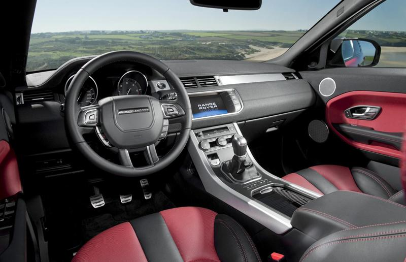 An Evoque with 'Verve' interior trim