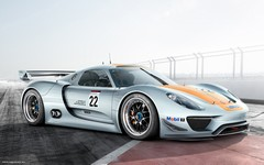918 RSR concept from Detroit 2011