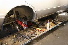 Work stopped - bigger hammer needed