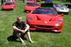 Robert's lost his TVR, but found a Ferrari