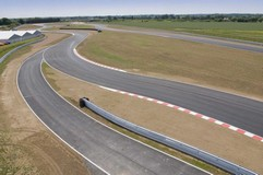 A view of the new £10m test track