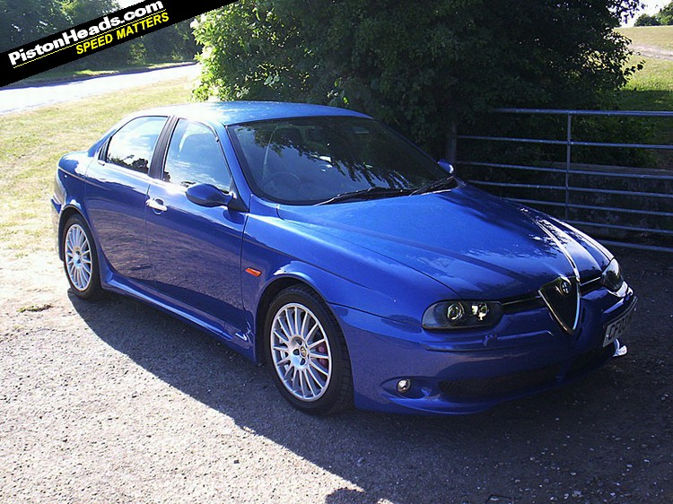 spotted alfa romeo 156 gta pistonheads. Black Bedroom Furniture Sets. Home Design Ideas