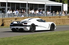 The Koenigsegg Agera on the FoS hill