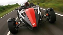 Four-wheeled motorbike. (Not)