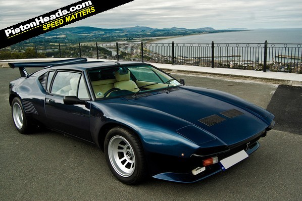 De Tomaso Pantera GT5S is one of just a handful of RHD UK cars