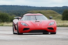 A very fast koenigsegg...