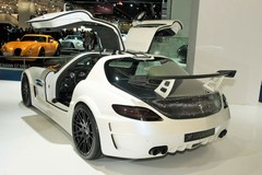 Hamann Hawk. Odd rear wing