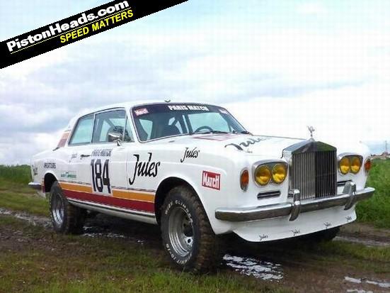 Rolls Royce Shadow Rally Car For Sale