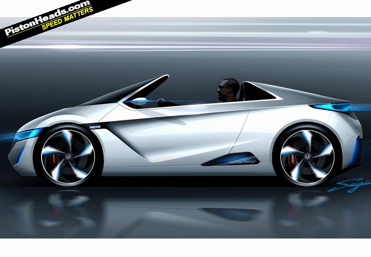 honda unveils electric sports car concept pistonheads