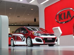 Kia Rio racer hints at hot hatch potential