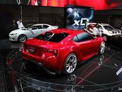 ...or perhaps the Toyota FT-86/Scion FR-S?
