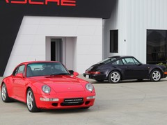 993 and 2,000km 964 among the old 911s 