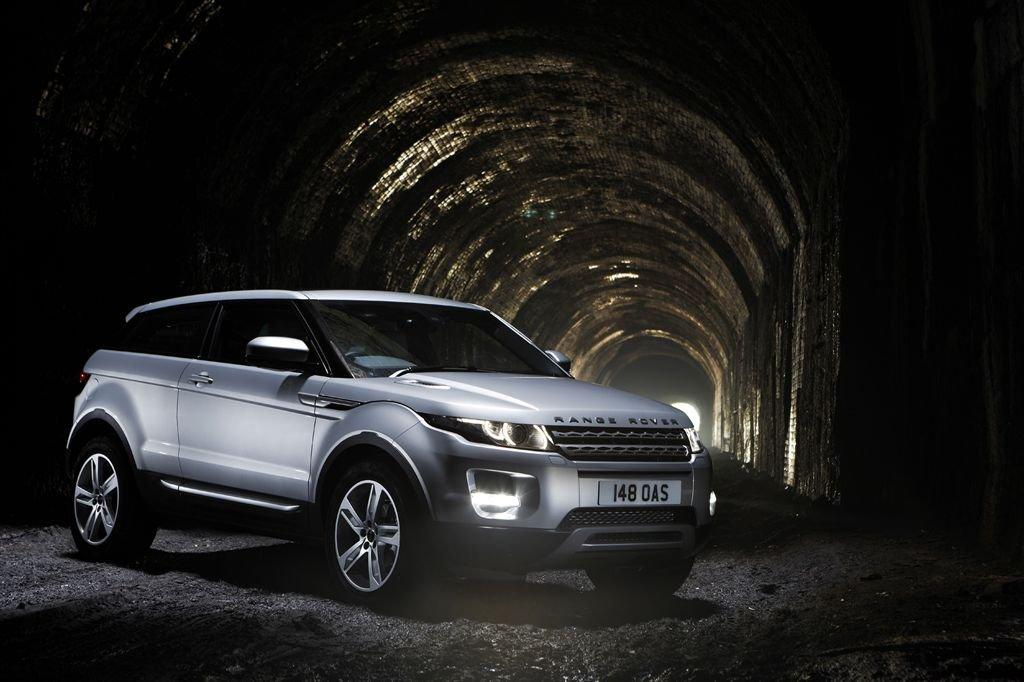 Disused railway tunnel reopened for Evoque launch