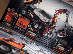 Lego Unimog: nearly as complex as real thing