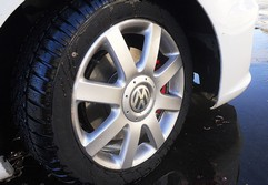Could small 'winter' wheels be the cause?