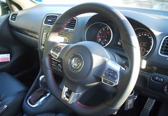 Steering wheel a thing of loveliness