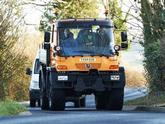 Unimog can do 56mph on the road