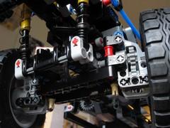 Proper Unimog portal axles in place