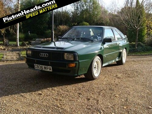 re spotted audi sport quattro page 1 general gassing pistonheads. Black Bedroom Furniture Sets. Home Design Ideas