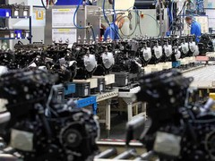 There are two production lines for engines