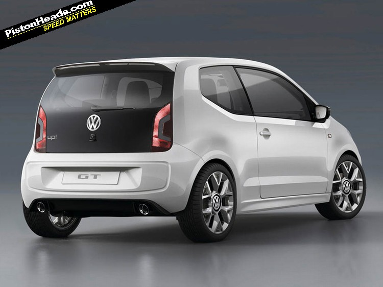 vw up gt gets green light pistonheads. Black Bedroom Furniture Sets. Home Design Ideas
