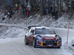 Hirvonen gets to grips with his Citroen