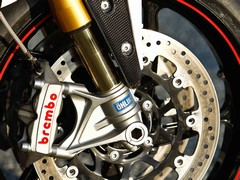 Ohlins fork worth more than just bragging rights