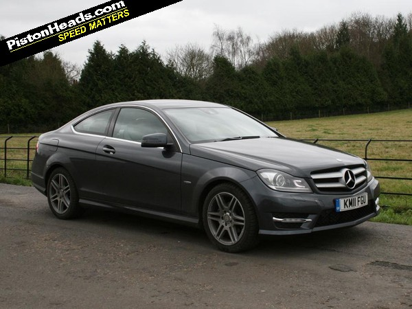 driven mercedes c250 cdi coupe pistonheads. Black Bedroom Furniture Sets. Home Design Ideas