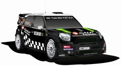 The new Mini WRC colours
