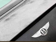 A Bentley on ice - good for over 200mph