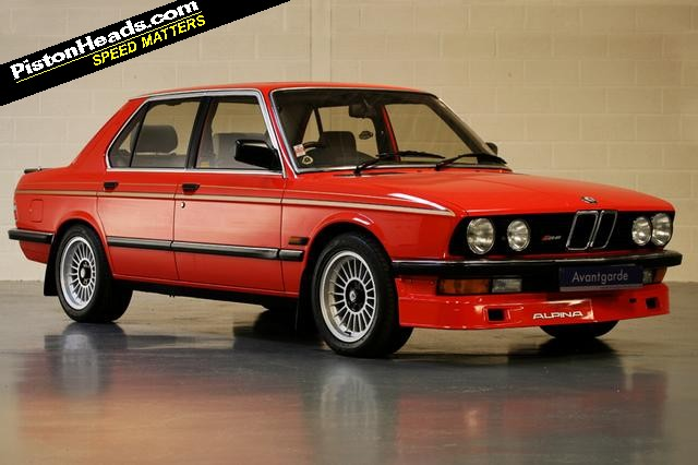 Spotted Special An Alpina Extravaganza Pistonheads