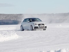 Harris goes all rally style in the baby Quattro